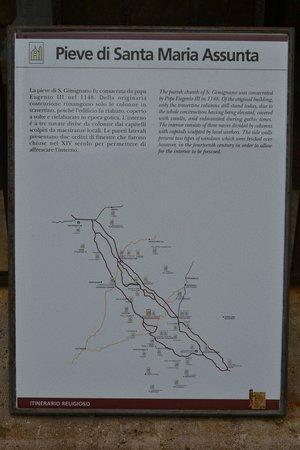 Collegiata di Santa Maria Assunta - Duomo di San Gimignano: Sobre a igreja