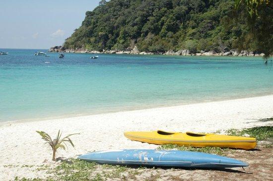 Perhentian Island Resort: Stunning beach.