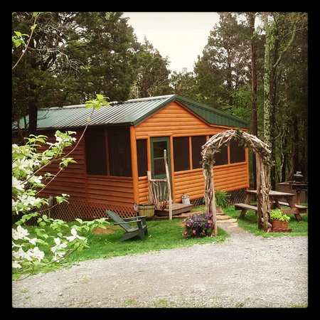 Rim Rock's Dogwood Cabins: Bear's Den