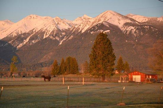 Mountain View Motel & RV Park : Sunrise