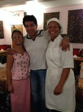 Thai Harbwr: Raj - Bollywood Star who comes to dine very often:)
