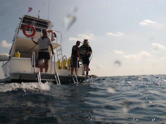 Centre de plongee, Marina Gaviota a Cayo Santa Maria : Lista para saltar !!!