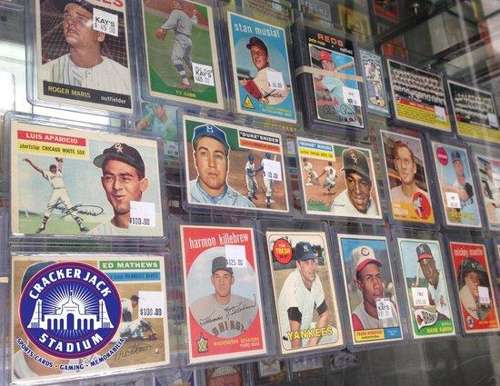 Niagaras Hobby Shop For Baseball Cards Boxes Rare Singles