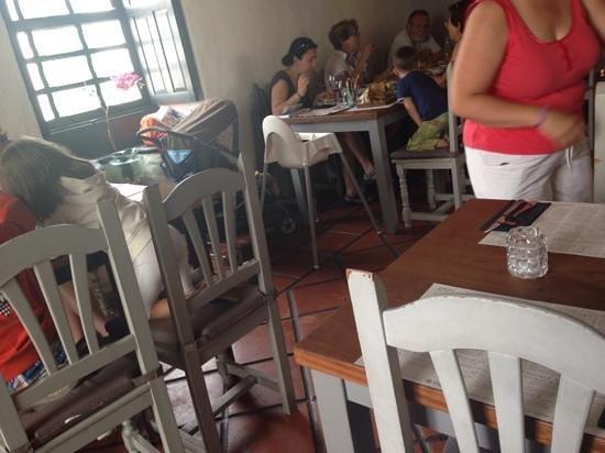 La Cantina : vista mesas