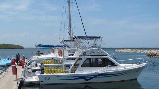 Centre de plongee, Marina Gaviota a Cayo Santa Maria : Embarcación Caji