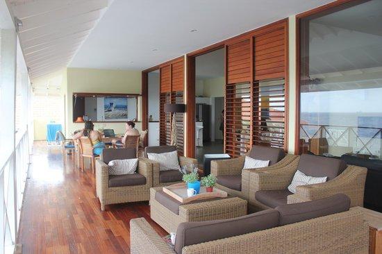 Boca Gentil Villas & Apartments: Patio