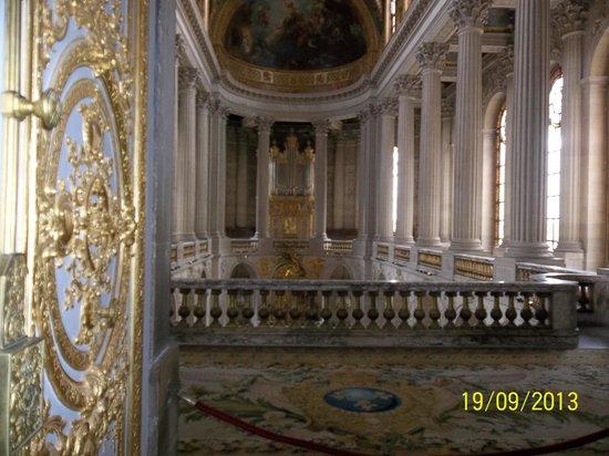 Private Tours Paris: vista da escada
