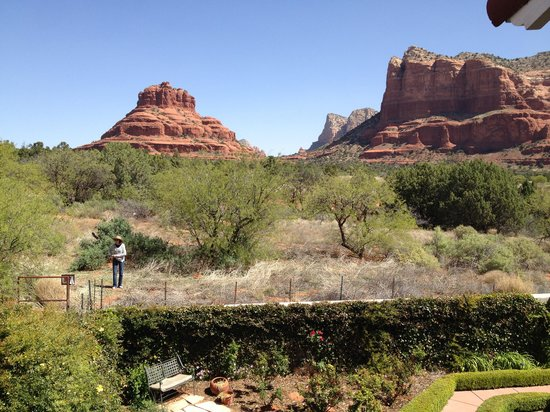Canyon Villa Bed and Breakfast Inn of Sedona: The View From Our Room