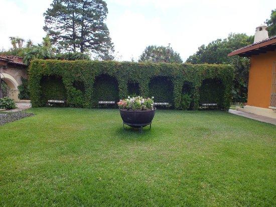 Casa Santa Rosa Hotel Boutique: Área Verde