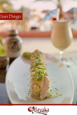 Odayaka Sushi Bar: San Diego Roll
