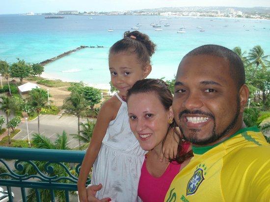 Hilton Barbados Resort: visual da varando do quarto