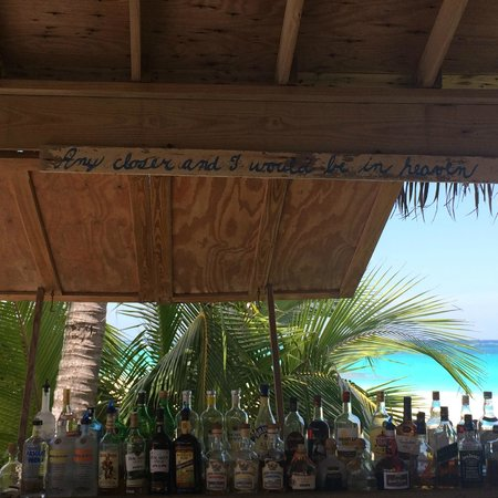 The Beach House Restaurant and Tapas Bar: Any closer and I'd be in heaven