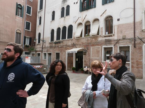Locanda Casa Querini: With our excellent guide, Luisella Romeo