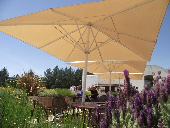 Sterling Vineyards: The grounds for tasting