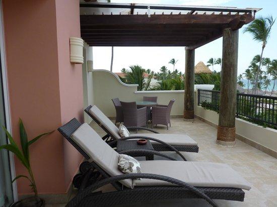 Secrets Royal Beach Punta Cana: Our balcony