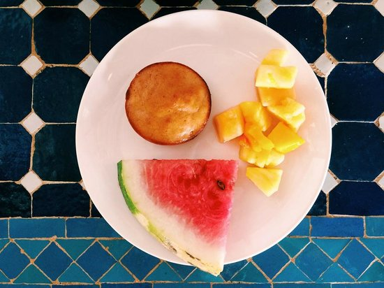 Blue Osa Yoga Retreat and Spa : breakfast selections