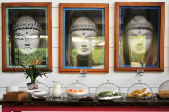 Blue Osa Yoga Retreat and Spa : breakfast buffet