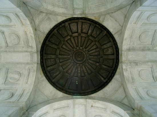 Gettysburg National Military Park: Monument Roof (Inside)