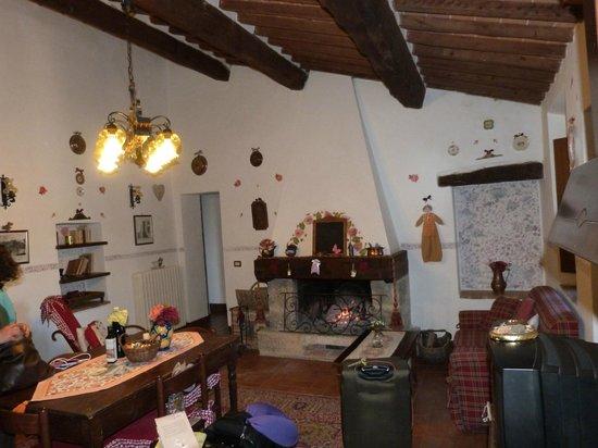 Aia Vecchia di Montalceto : living area