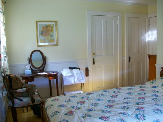 Blackberry River Inn: Room 3 in the Carriage House - View 1