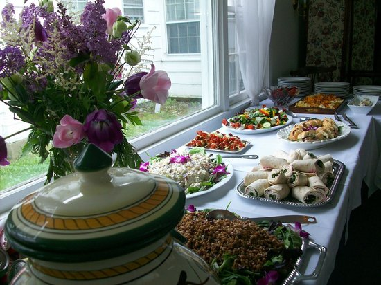 Blackberry River Inn: Our Catered Luncheon in the Dining Room