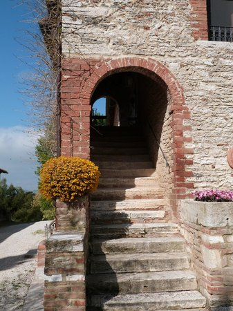 Aia Vecchia di Montalceto : stairs to apartment Chiara