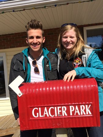 Glacier Park Bed and Breakfast: Kyle and Stephanie