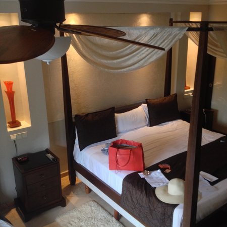 Majestic Elegance Punta Cana: birds eye view of bed