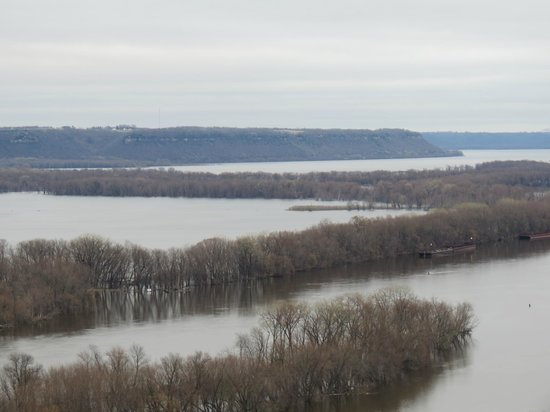 The Lake from the top of Barn Bluff.