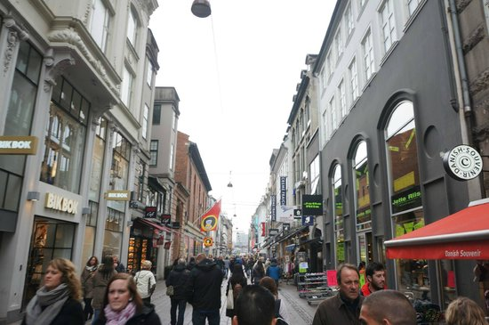Strøget : The street.