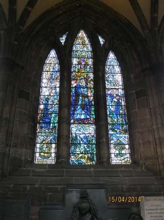 Glasgow Cathedral: Stained glass window