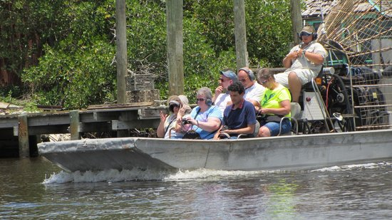 Captain Jack's Airboat Tours : Air boat