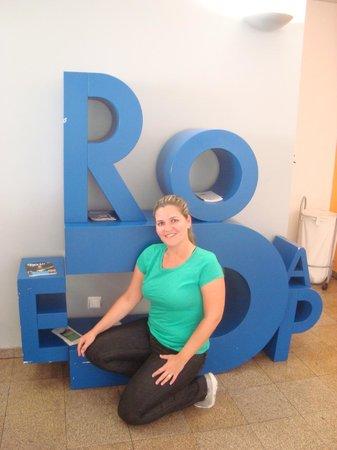 Youth Hostel Porto: recepcao
