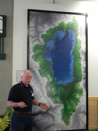 UC Davis Tahoe Environmental Research Center: Docent John Farley Explains the Geological Nature