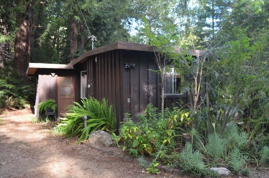 Glen Oaks Big Sur: Back/side of The Cottage