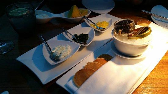 Ithaa Undersea Restaurant: Caviar