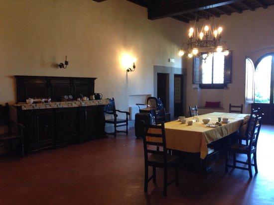 Villa Camilla: Sala pranzo