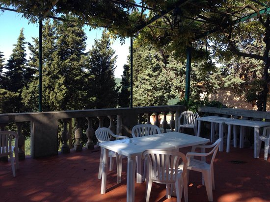 Villa Camilla: Terrazza esterna