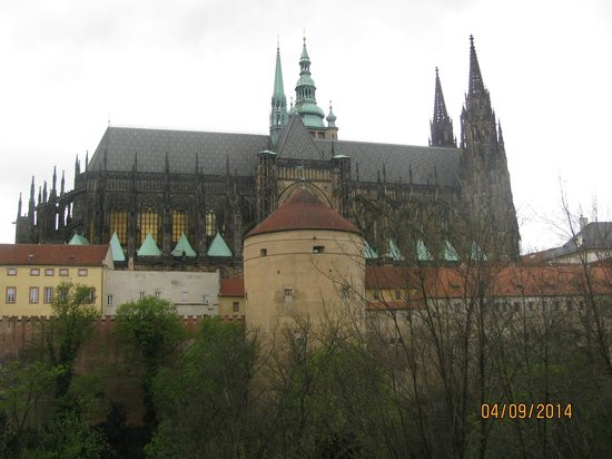 Château de Prague : vista geral do castelo