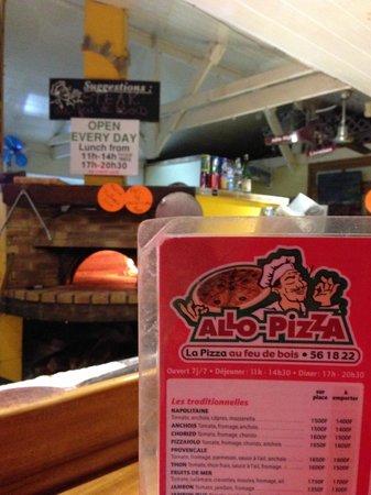 Allo Pizza : Brick Wood Fire Oven