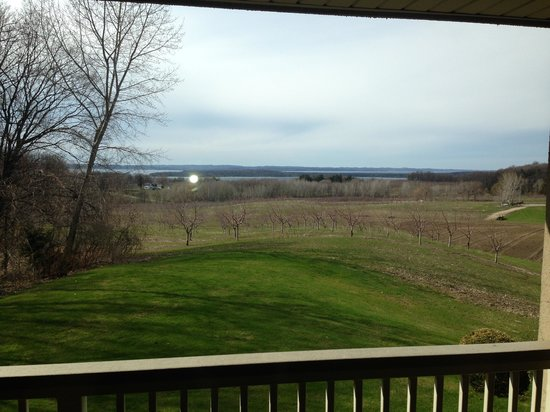 The Inn at Chateau Grand Traverse: View from our balcony