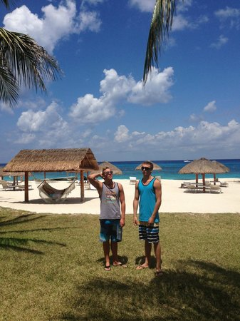 Presidente Inter-Continental Cozumel Resort & Spa: Guys again