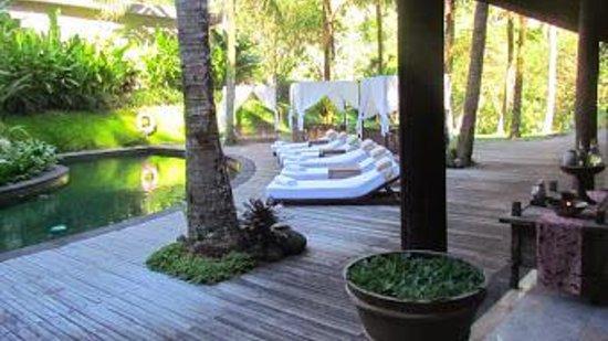 Komaneka at Bisma: Resort bottom pool