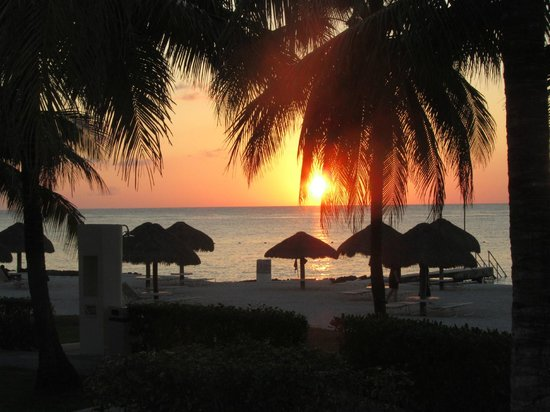 Presidente Inter-Continental Cozumel Resort & Spa: sunset