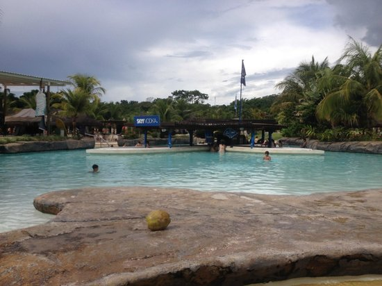 Hot Park: Piscinas de água quente
