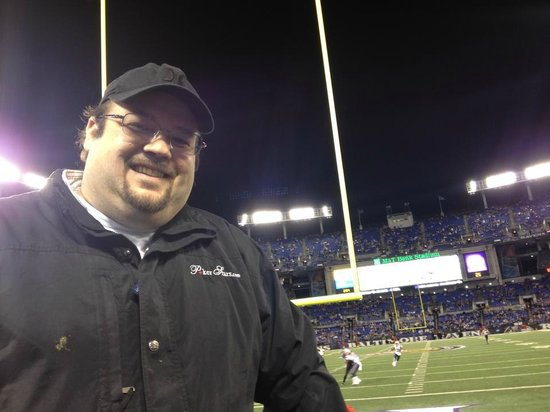 M&T Bank Stadium : Raven vs Patriots