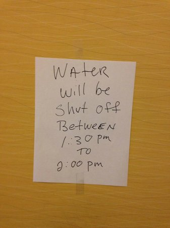 Harrisburg Hotel : No apologies.