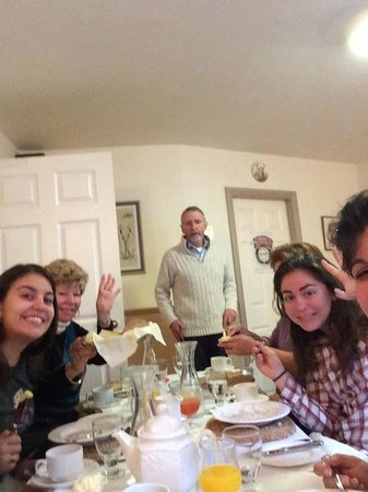 Virginia's Guesthouse Kenmare : Our family with Neil