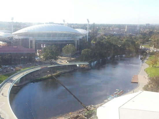 InterContinental Adelaide: View from 16th floor