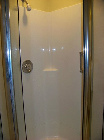 Depuy Townhouses: Small shower stall